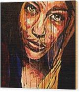 Mona X Miley Wood Print