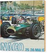 Monaco F1 Grand Prix 1968 Wood Print