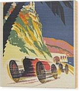 Monaco Grand Prix 1932 Wood Print