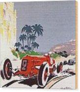 Monaco Grand Prix 1934 Wood Print