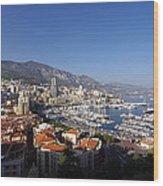 Monaco Wood Print