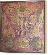 Monarch Butterfly By Alfredo Garcia Wood Print