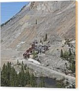 Monarch Mine - Monarch Pass Colorado Wood Print