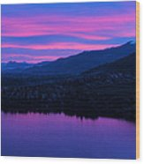 Monashee Rise Wood Print by Rod Sterling