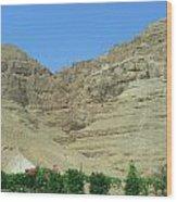 Monastary On The 40-day Mountain Wood Print