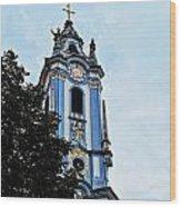 Monastic Church Wood Print