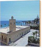 Great Mosque Monastir Wood Print