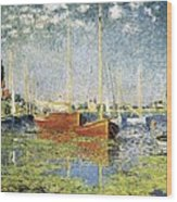 Monet, Claude 1840-1926. Argenteuil Wood Print