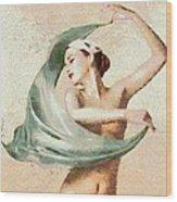 Monet Movement Wood Print