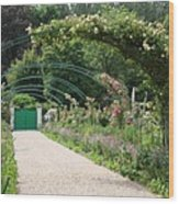 Monets Garden - Giverney - France Wood Print