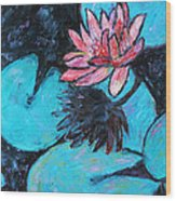 Monet's Lily Pond IIi Wood Print