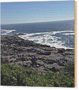 Monhegan Island Wood Print