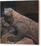 Monitor Lizard Wood Print