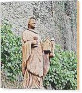 Monk Of St Goar Wood Print