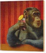 Monkey Bars...she Said... Wood Print