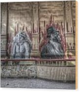 Monky  Business  Wood Print