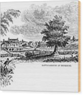 Monmouth Battlefield Wood Print