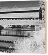 Mono Bridge Wood Print