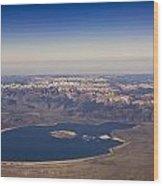 Mono Lake And The High Sierras Wood Print