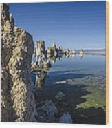 Mono Lake Tufas 3 Wood Print