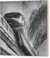 Monorail Wood Print