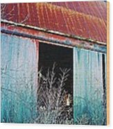 Monroe Co. Michigan Barn Wood Print