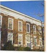 Monroe Hall University Of Virginia Wood Print