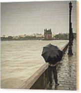 Monsoon In Mumbai Wood Print
