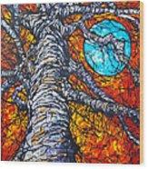 Monster Tree Wood Print