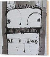 Monstra No. 1 Wood Print by Mark M  Mellon