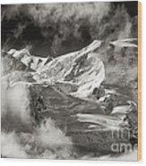 Mont Blanc Group Wood Print