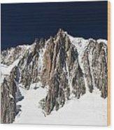 Mont Blanc Massif Wood Print