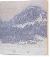 Mont Kolsaas Wood Print by Claude Monet