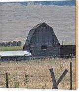 Montana Barn Wood Print