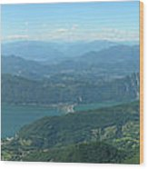 Monte Generoso Svizzera Wood Print