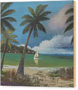 Montego Bay Wood Print