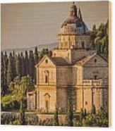 Montepulciano Tuscany Wood Print