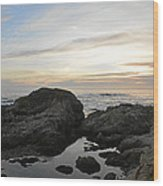 Monterey Bay Coast Wood Print