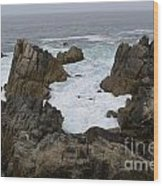 Monterey Bay - California Wood Print