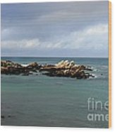 Monterey Bay Wood Print