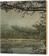 Monterey Bay - The Other Side Wood Print