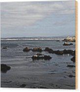 Monterey Bay View Wood Print