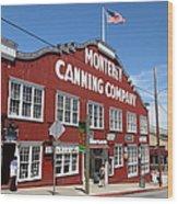Monterey Cannery Row California 5d25045 Wood Print