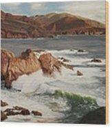 Monterey Coast Wood Print