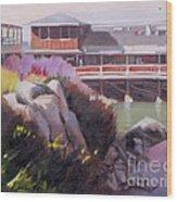 Monterey Fisherman's Wharf Wood Print