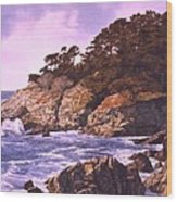Monterey Glory Wood Print