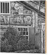 Monterey Historic Building 1 Wood Print