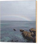 Monterey Rainbow Wood Print