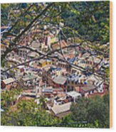 Monterosso From Above - Cinque Terre Wood Print