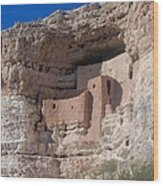 Montezuma Castle Arizona Wood Print